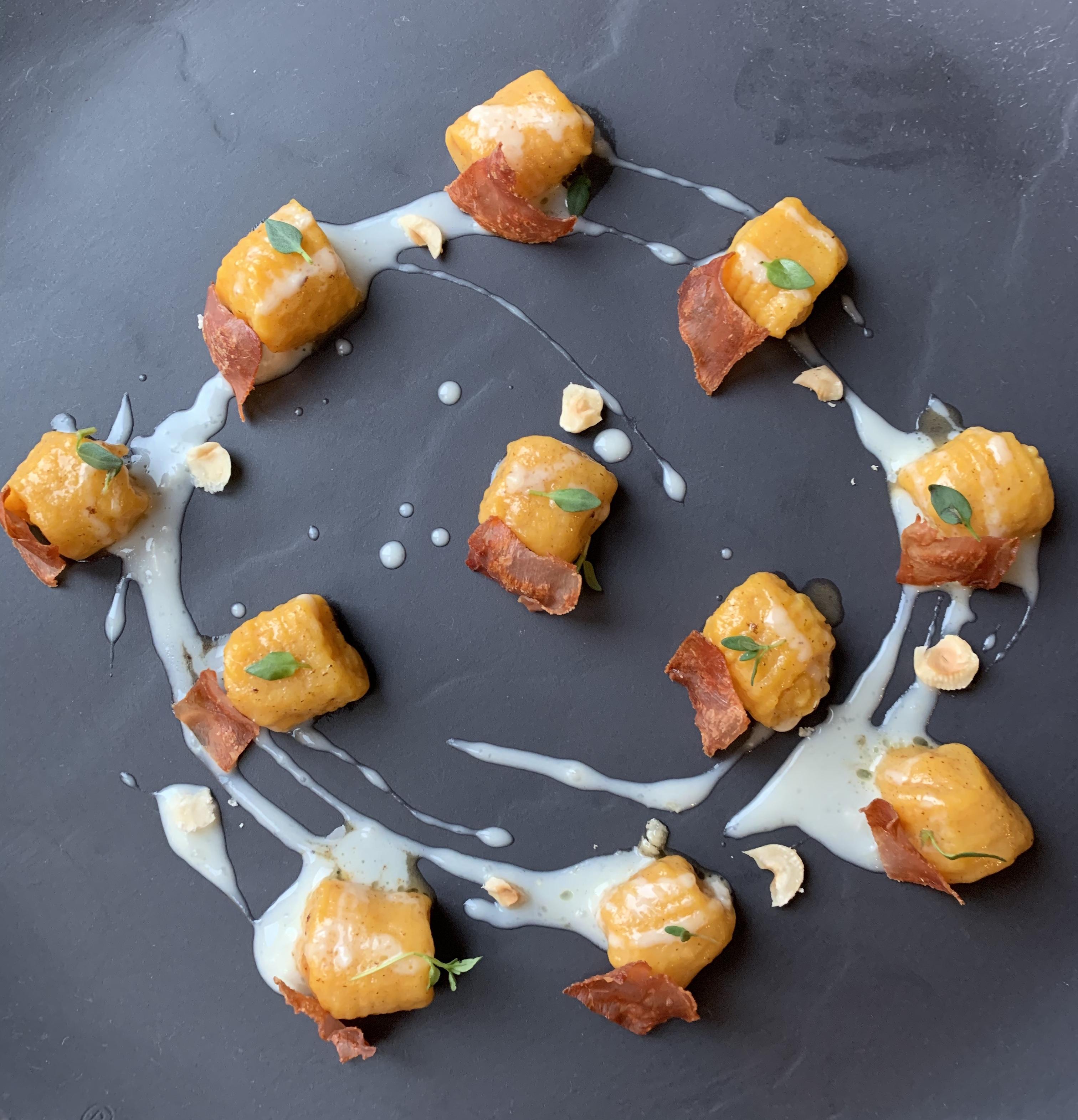 Ricetta Gnocchi Zucca E Gorgonzola.Gnocchi Di Zucca E Crema Di Gorgonzola Zenzero In Cucina